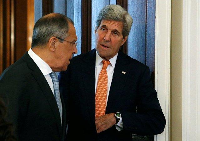 俄外长与美国务卿将在纽约讨论叙利亚局势及人道车队在阿勒颇遇袭问题