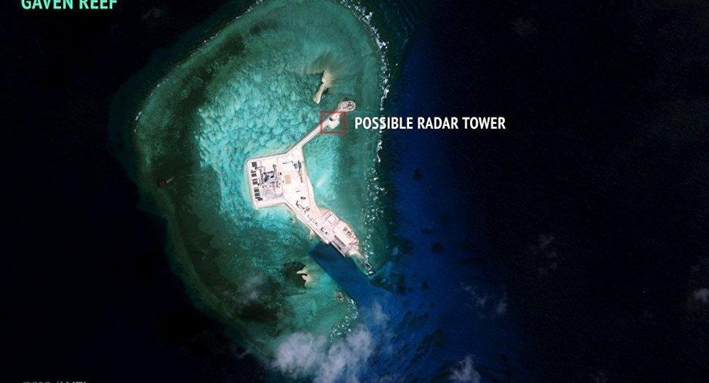 中国南海造岛