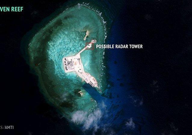 """饿媒:21世界的南海将出现""""海上长城""""吗?"""