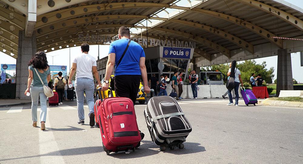 土邊防軍拘捕一名企圖用行李箱偷運女子入境的格魯吉亞公民