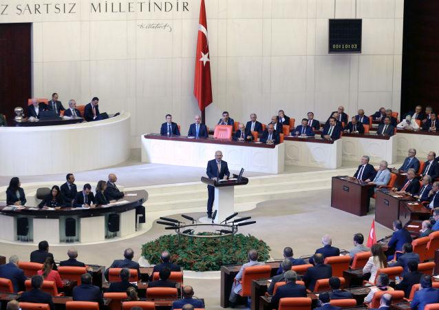 媒体:警方否认有关土耳其议会因受到袭击威胁而疏散的消息