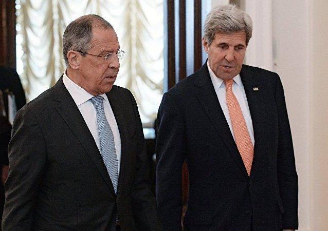 俄驻美大使:俄美正筹备拉夫罗夫与克里的会晤