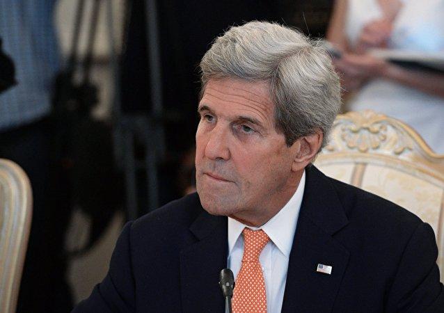 克里:已向欧盟介绍俄美关于叙利亚的共识