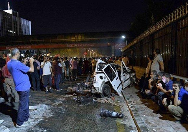 媒体:安卡拉司法宫附近不明枪手已被击毙