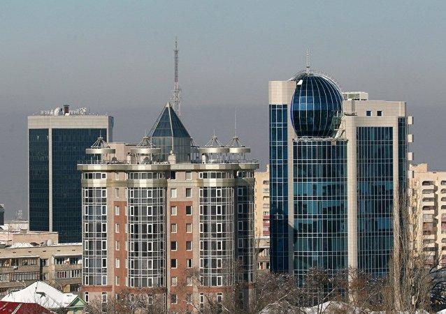 哈萨克斯坦阿拉木图市