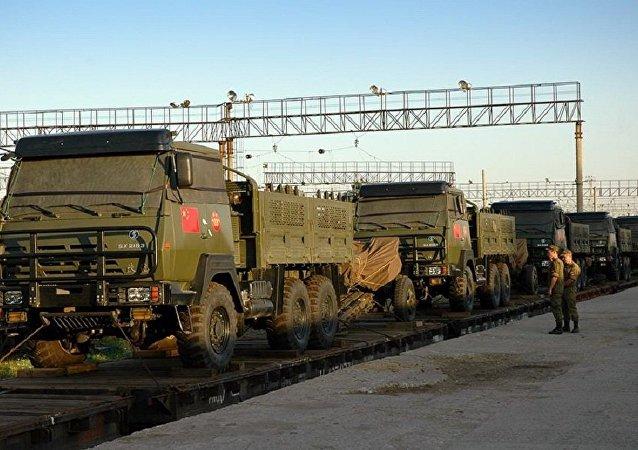 俄国防部:中国队在维修武器比赛第二阶段获得第一名