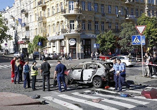 乌克兰内务部:著名记者舍列梅特出事的车辆可能被远程引爆