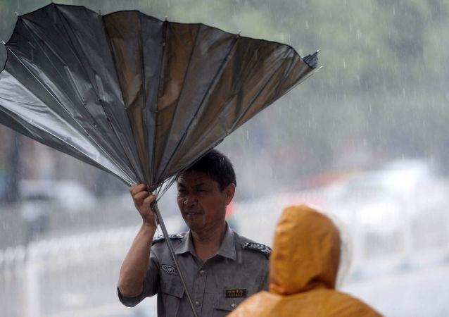 中国南方4省遭受洪涝风雹灾害 直接经济损失3400余万元