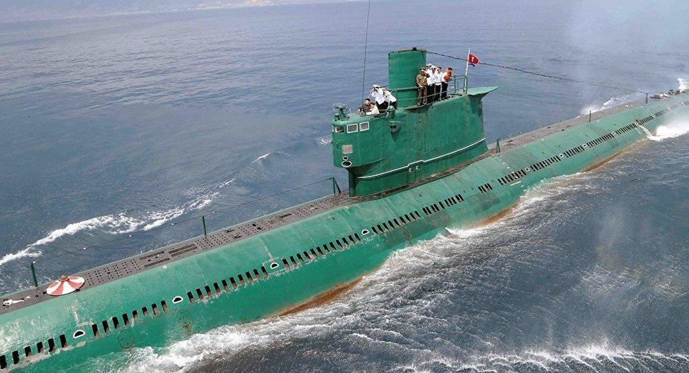 朝鮮繼續在研制可攜帶彈道導彈的潛艇