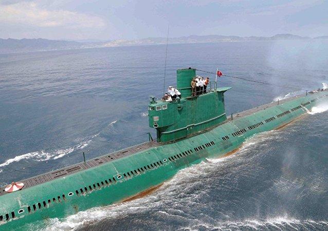 朝鲜继续在研制可携带弹道导弹的潜艇