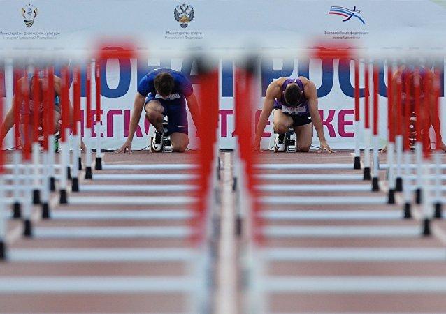 俄田径运动员