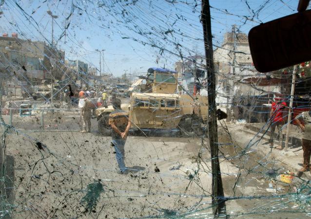 消息人士:巴格达恐怖袭击案导致6人死亡18人受伤