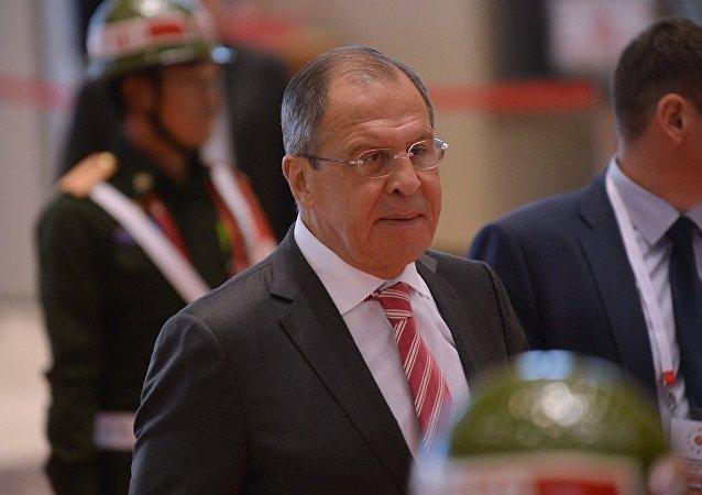 俄外长:俄罗斯与东盟密切协调建立亚太地区安全架构工作
