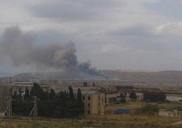 阿塞拜疆武器工厂爆炸致多人受伤