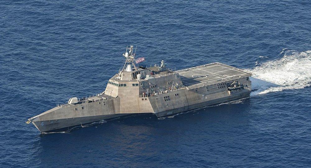 特朗普表示美国军舰击落一架伊朗无人机