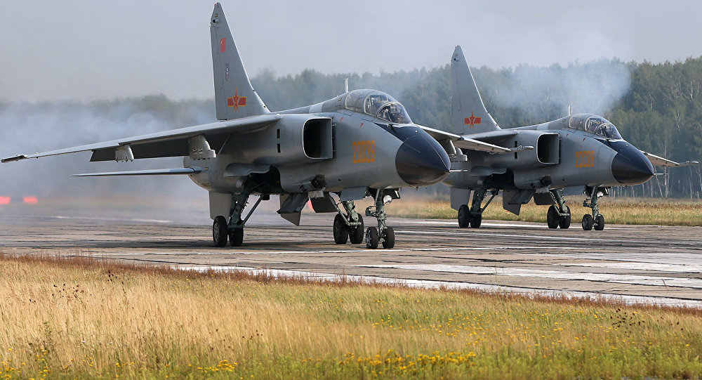 中国JH-7А轰炸机