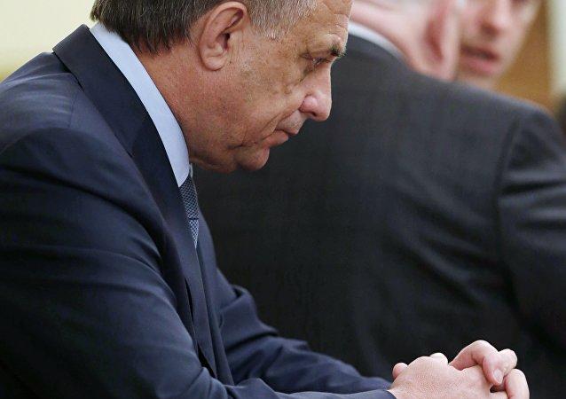 俄罗斯体育部部长维塔利·穆特科