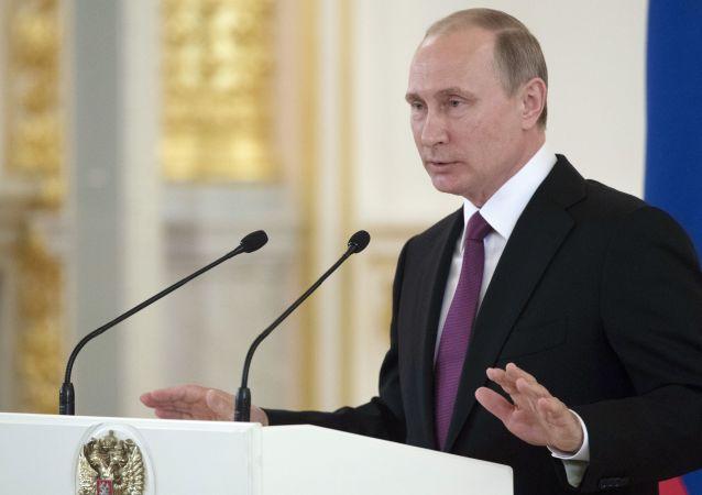 普京:有关俄运动员的事态超出法律和常理范畴