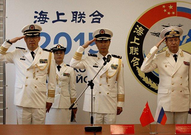 中国专家:中方或派多军兵种参加中俄南海联合军演