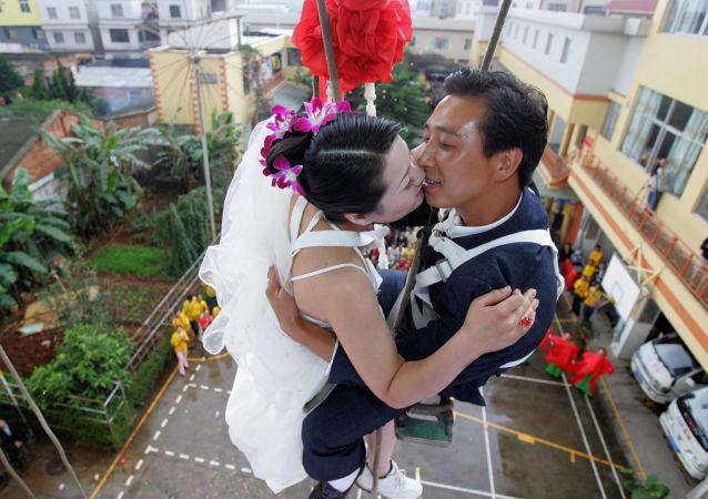 中国政府提倡节俭办婚礼