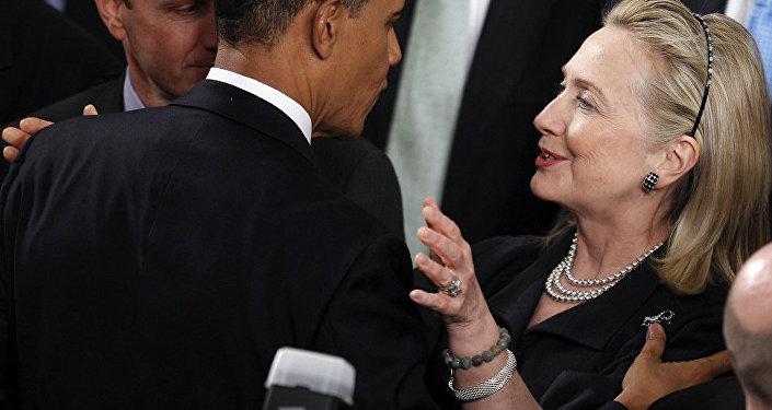 媒体:奥巴马为支持克林顿选举中断休假