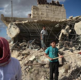 人道主义行动以来逾5.95万人返回叙东古塔