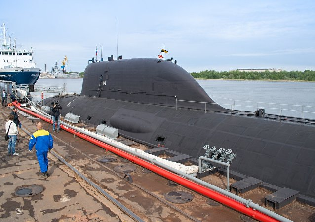 """俄""""亚森""""级核潜艇"""