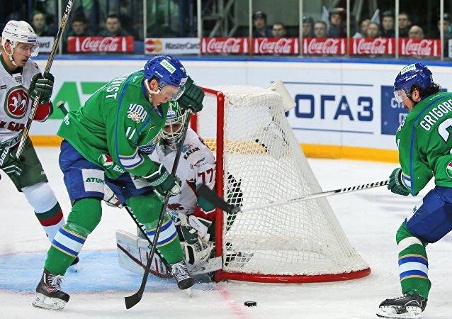 俄SOGAZ保险集团为大陆冰球联盟球员和裁判上保险