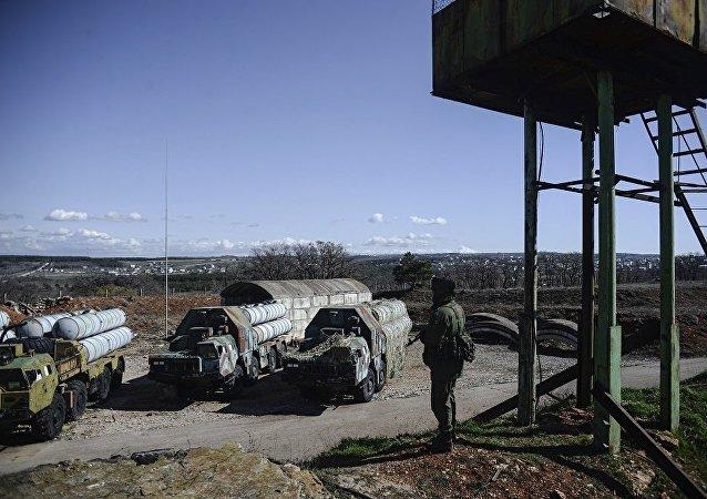 消息人士:乌克兰留在克里米亚的S-300系统被搁置起来
