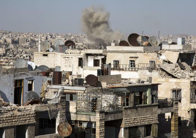 俄外交部:对代尔祖尔的空袭发生在叙反对派违反停火制度的背景下