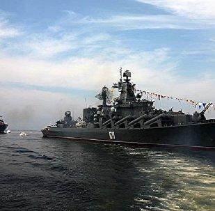 俄太平洋舰队作战舰艇支队已到访印尼雅加达