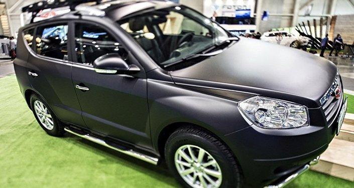 吉利将在2016年莫斯科国际车展上推出5款新车