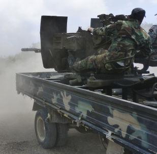 叙利亚政府军在俄军掩护下向巴尔米拉发起攻势