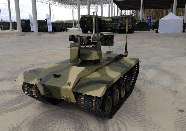 """俄前景研究基金会:""""涅列赫塔-2""""作战机器人将成为""""未来战士""""单兵作战系统一部分"""