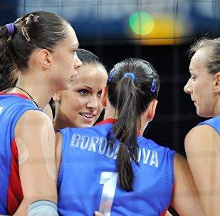 俄罗斯女子排球队