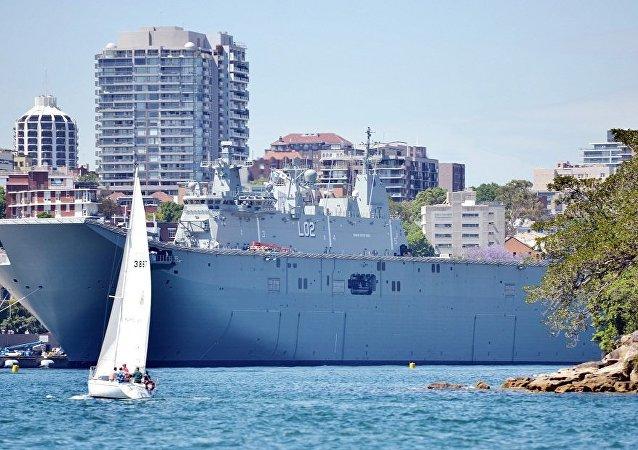 澳大利亚或派军事人员赴南海监视中俄军演