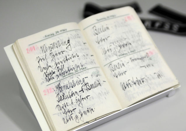 在俄发现希姆莱日记中令人震惊的部分