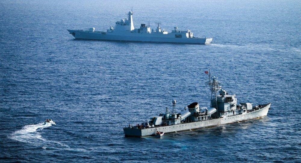 美舰擅自进入中国领海挑衅 严重侵犯中国主权