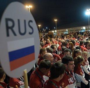 俄羅斯運動員