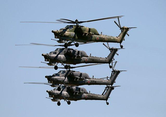 """直升机米-28N""""夜间猎手"""""""