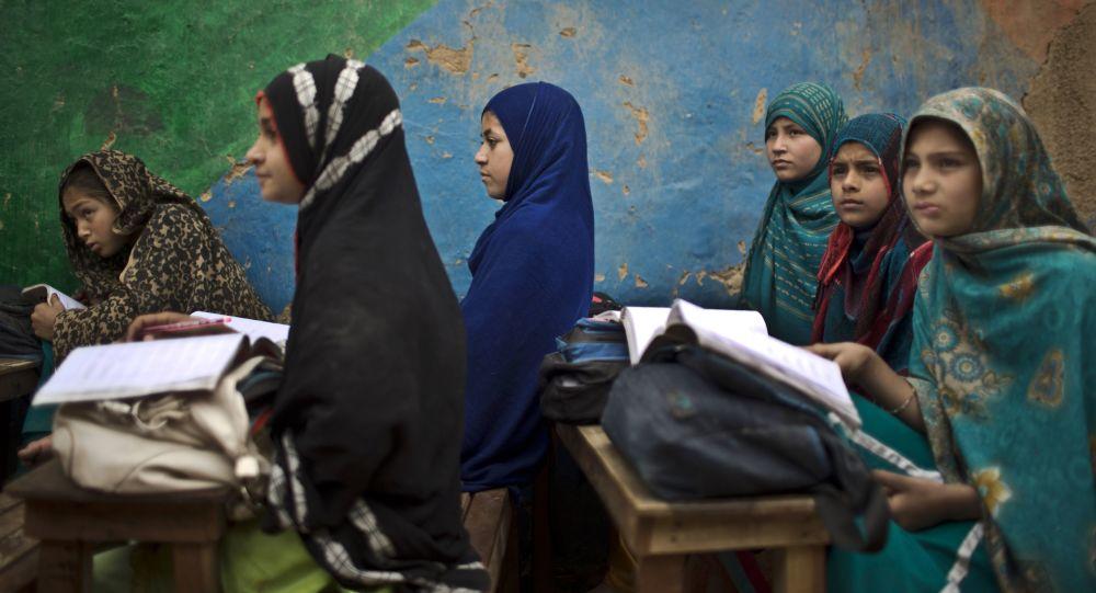 阿富汗孩子