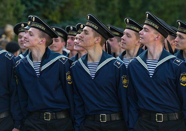 """俄海军在""""海洋杯-2016""""两个阶段比赛结束后保持领先"""