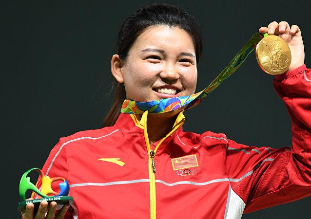 中国奥运代表团已收获3金2银3铜位列奖牌榜第2名