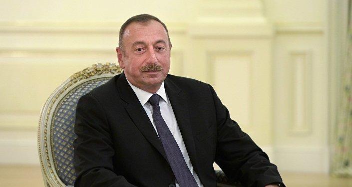 阿塞拜疆现任总统阿利耶夫被正式推举为该国总统候选人