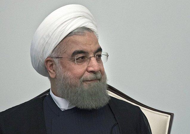 伊朗总统哈桑·鲁哈尼