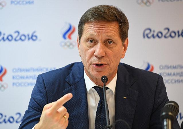 俄奥委会主席亚历山大·茹科夫