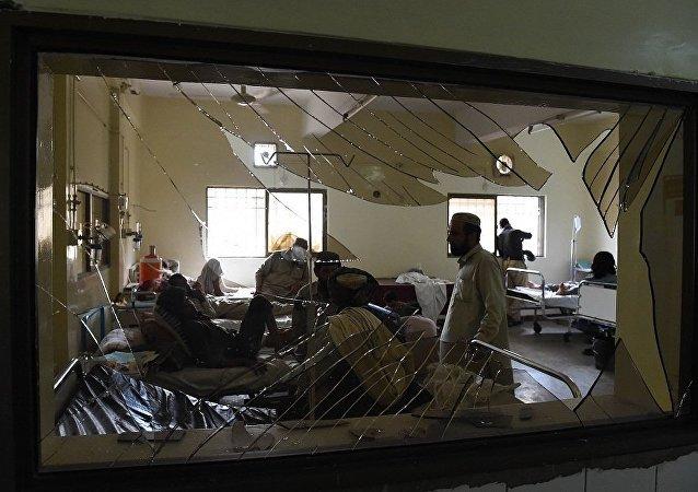 中国外交部:中方强烈谴责巴基斯坦奎塔恐怖袭击事件