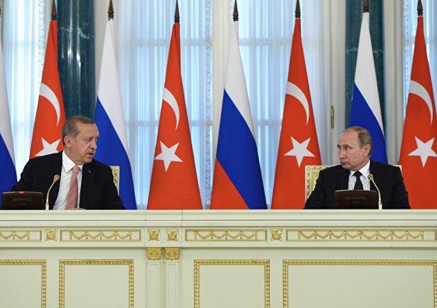 """土外交部:俄土将在必要情况下签署""""土耳其流""""补充协议"""