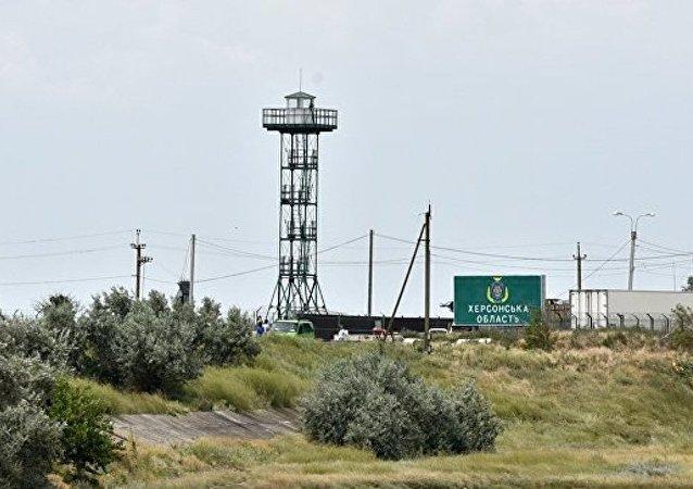 乌总参谋部称关于派遣破坏小组潜入克里米亚的声明是挑衅