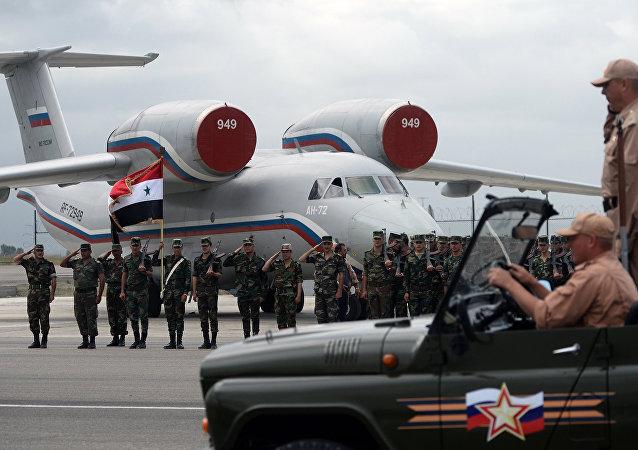"""叙利亚""""赫梅米姆""""军事基地"""